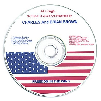 Charles Brown FREEEDOM IN THE WIND CD