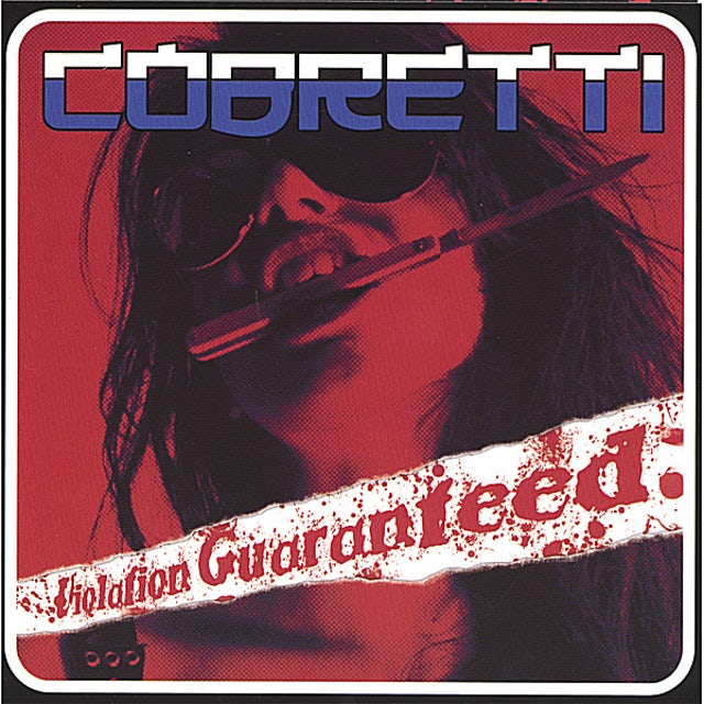 Cobretti VIOLATION GUARANTEED CD