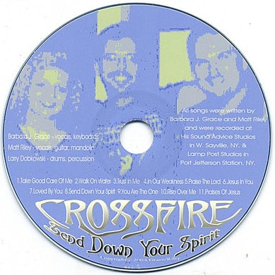 Crossfire SEND DOWN YOUR SPIRIT CD