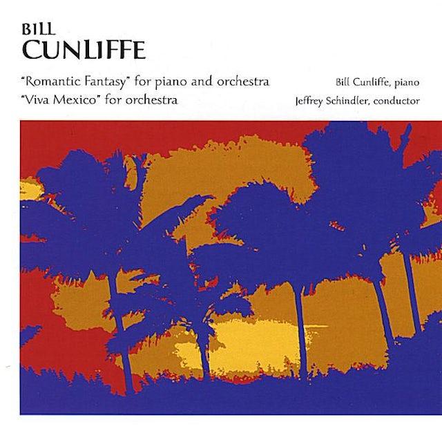 Bill Cunliffe VIVA MEXICO ROMANTIC FANTASY CD