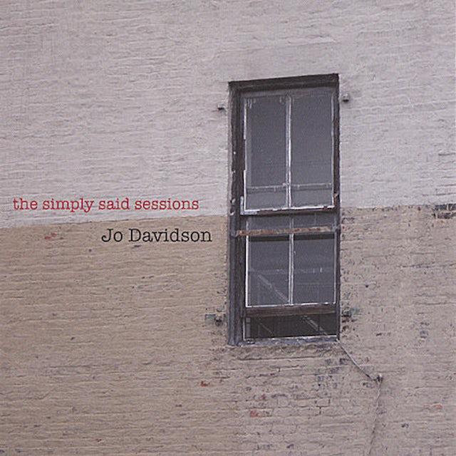 Jo Davidson SIMPLY SAID SESSIONS CD