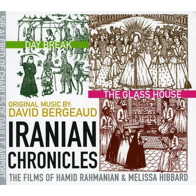 David Bergeaud IRANIAN CHRONICLES CD