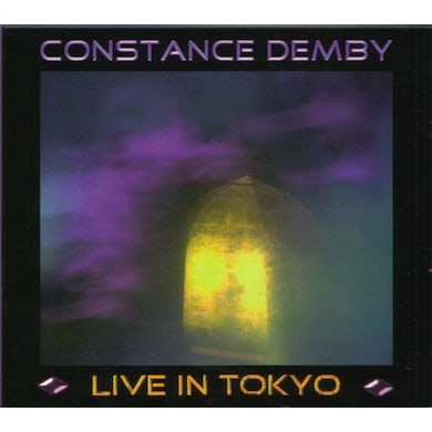CONSTANCE DEMBY-LIVE IN TOKYO CD