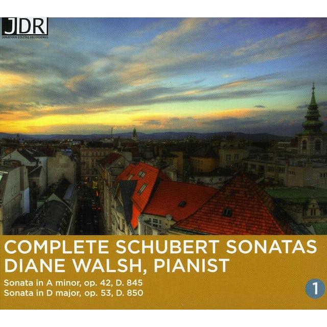 F. Schubert COMPLETE SONS VOL. 1 CD