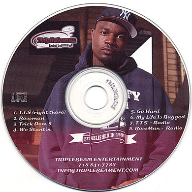 DL BOSSMAN EP CD