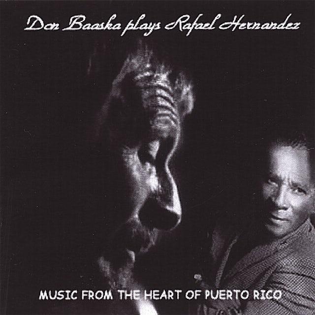 Don Baaska PLAYS RAFAEL HERNANDEZ CD