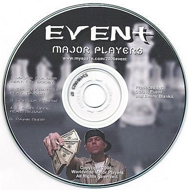 Event MAJOR PLAYERS EP CD