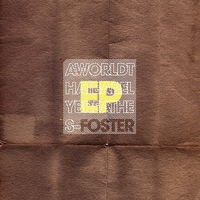 Foster WORLD THAT BARELY BREATHES EP CD