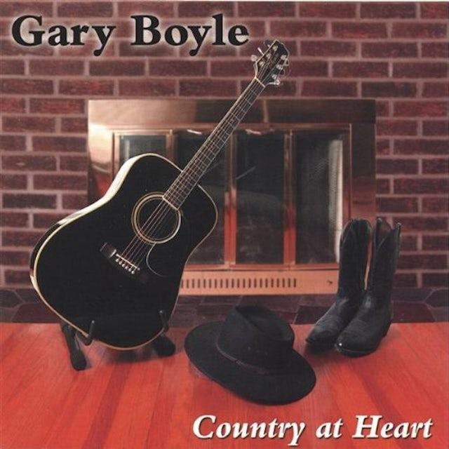 Gary Boyle COUNTRY AT HEART CD
