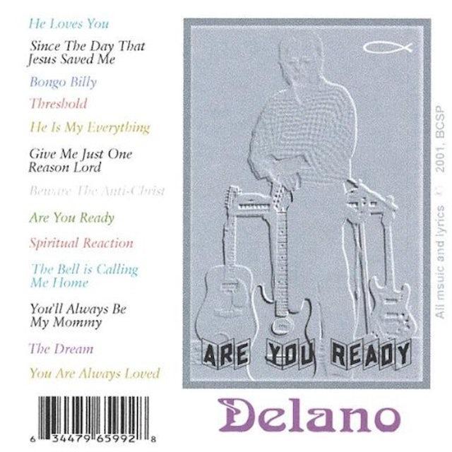 Delano ARE YOU READY CD