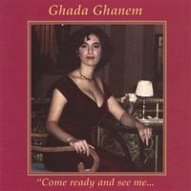 Ghada Ghanem COME READY & SEE ME CD