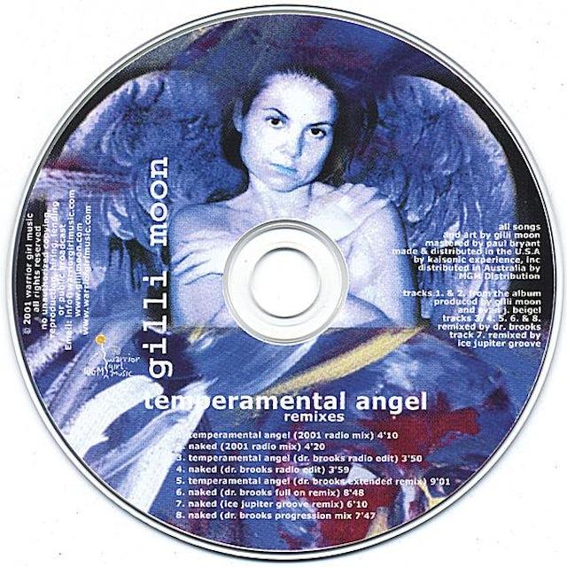 Gilli Moon ANGEL REMIXES CD