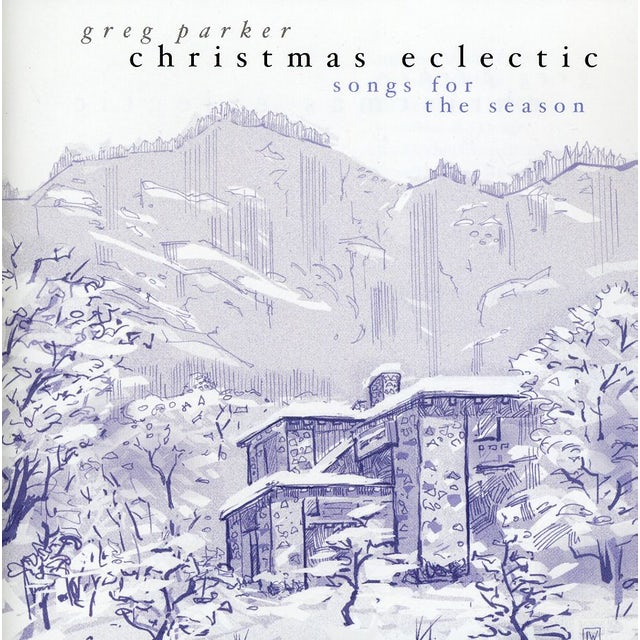 Greg Parker CHRISTMAS ECLECTIC CD