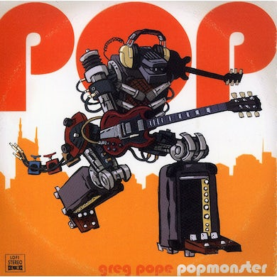 Greg Pope POPMONSTER CD