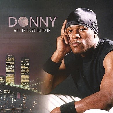 Donny ALL IN LOVE IS FAIR CD