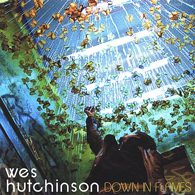 Wes Hutchinson DOWN IN FLAMES CD