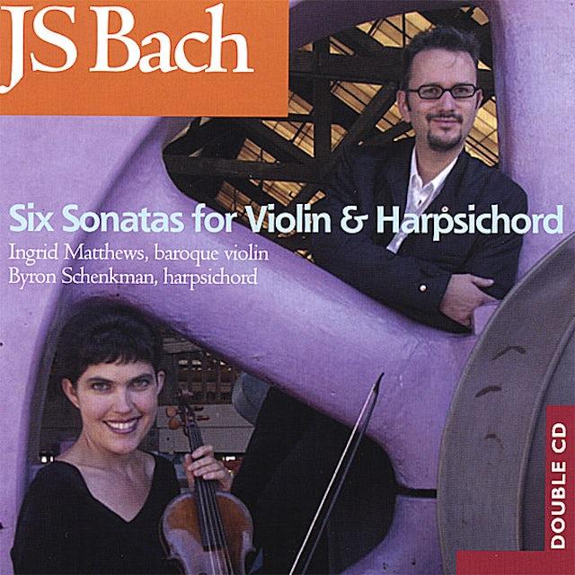 J.S. Bach VN SONS/HPD SONS CD