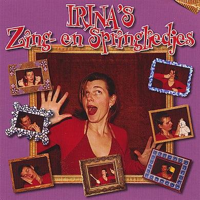 IRINA'S ZING- EN SPRINGLIEDJES CD