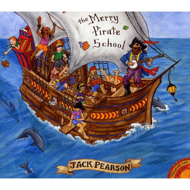 Jack Pearson MERRY PIRATE SCHOOL CD