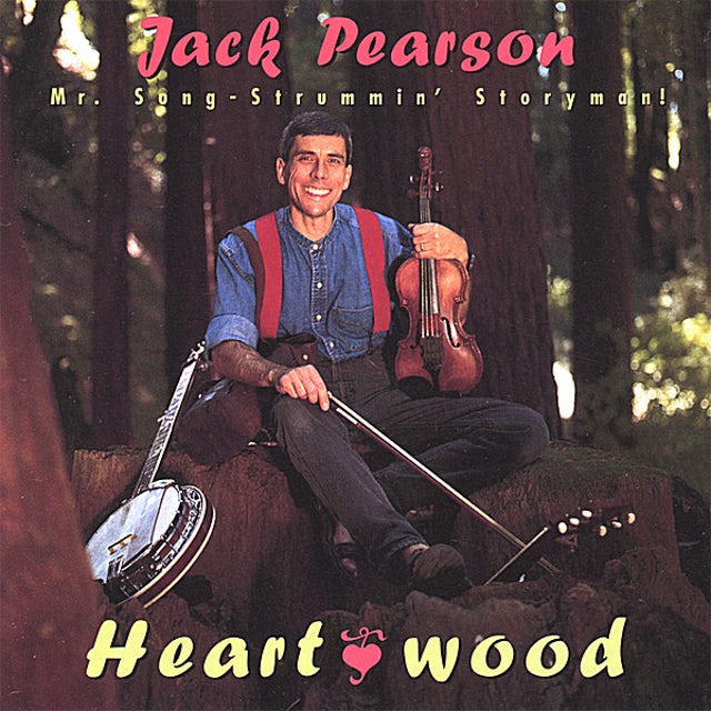 Jack Pearson HEARTWOOD CD
