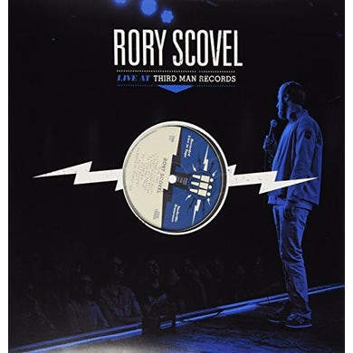 Rory Scovel LIVE AT THIRD MAN RECORDS Vinyl Record