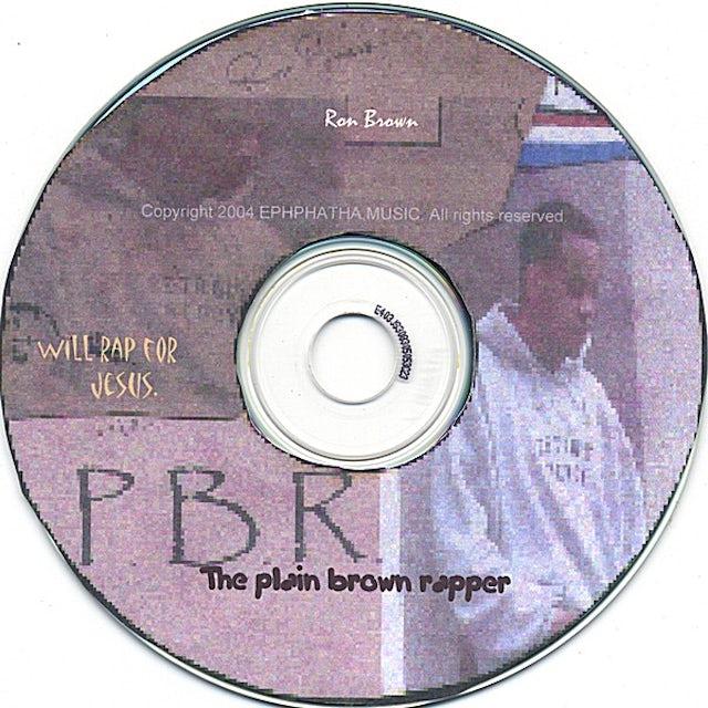 Ron Brown PLAIN BROWN RAPPER CD