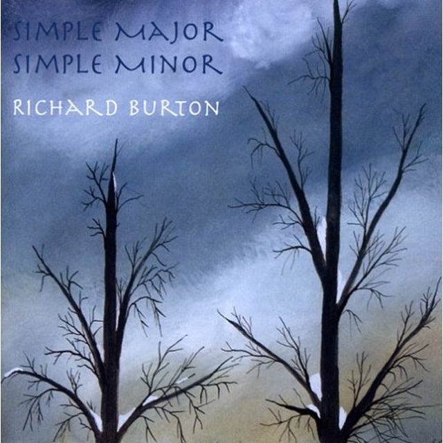 Richard Burton SIMPLE MAJOR SIMPLE MINOR CD