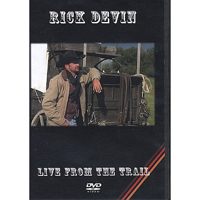 Rick Devin LIVE FROM THE TRAIL CD