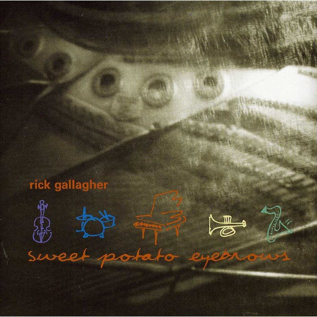 Rick Gallagher SWEET POTATO EYEBROWS CD