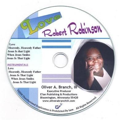 Robert Robinson LOVE CD