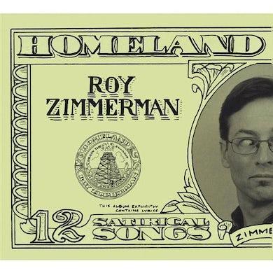 Roy Zimmerman SECURITY CD