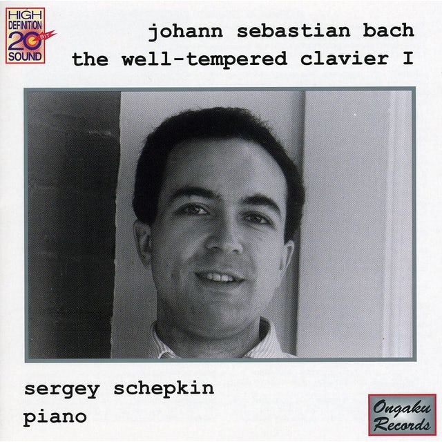 J.S. Bach WELL-TEMPERED CLAVIER 1 CD