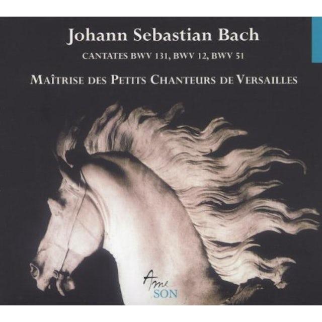 J.S. Bach CANTATAS BWV 12 51 131 CD