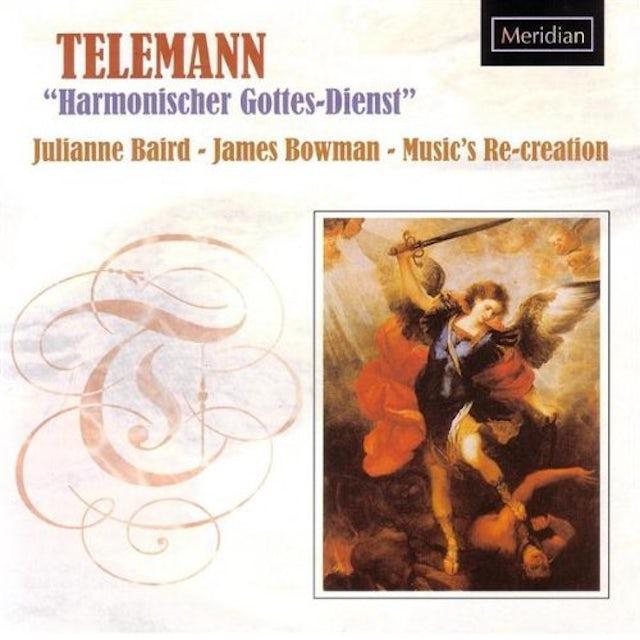 Telemann HARMONISHER GOTTES-DIENST CD