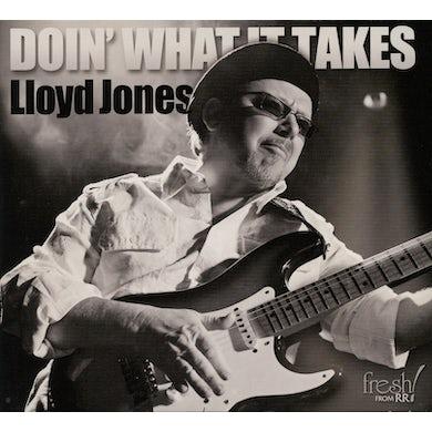 Lloyd Jones DOIN WHAT IT TAKES CD