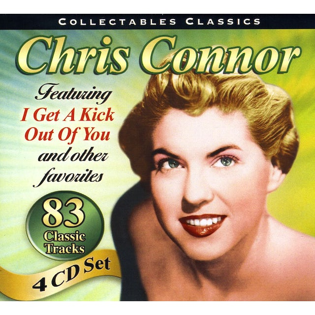 Chris Connor COLLECTABLES CLASSICS CD
