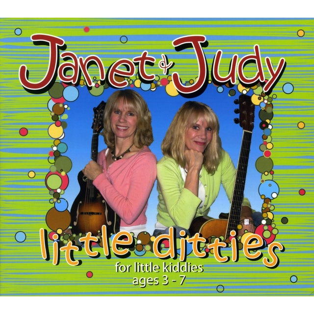 Janet & Judy LITTLE DITTIES CD