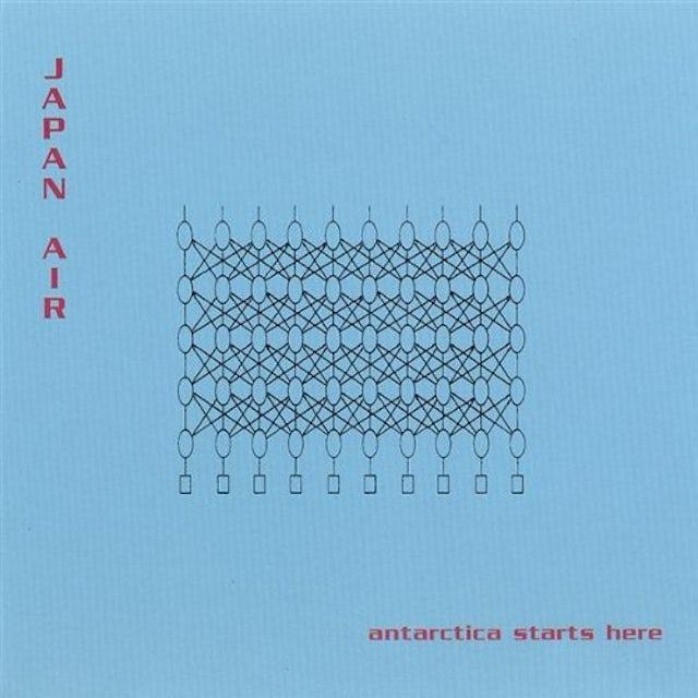Japan Air ANTARCTICA STARTS HERE CD