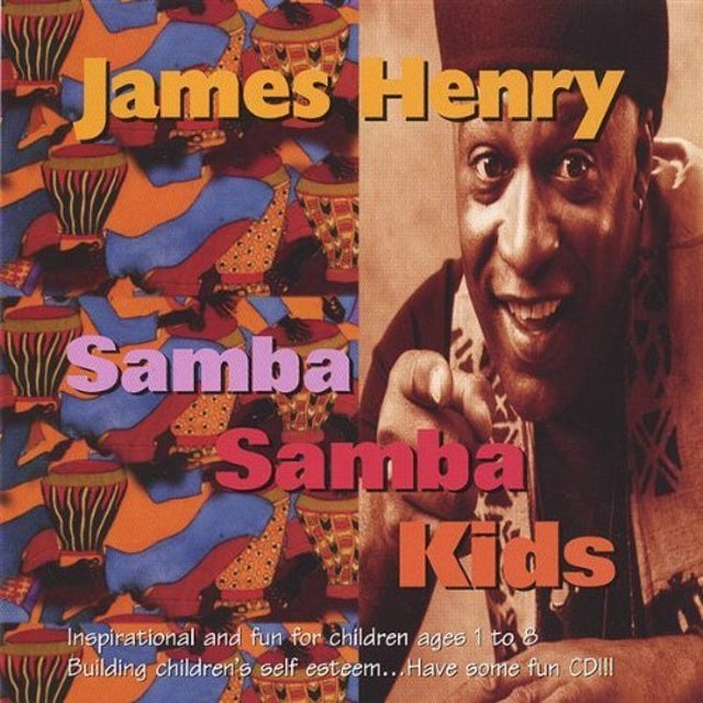 James Henry SAMBA SAMBA KIDS CD