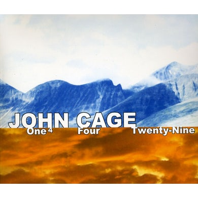 John Cage ONE4 FOUR CD
