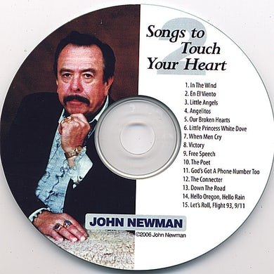 John Newman SONGS TO TOUCH YOUR HEART 2 CD
