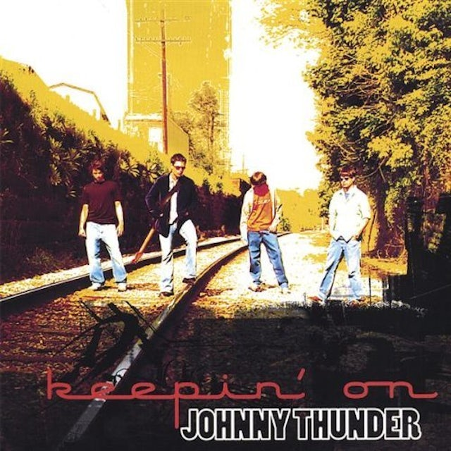 Johnny Thunder KEEPIN' ON CD