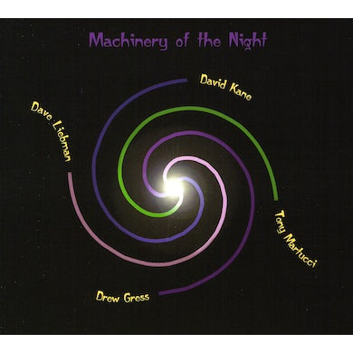 David Kane MACHINERY OF THE NIGHT CD