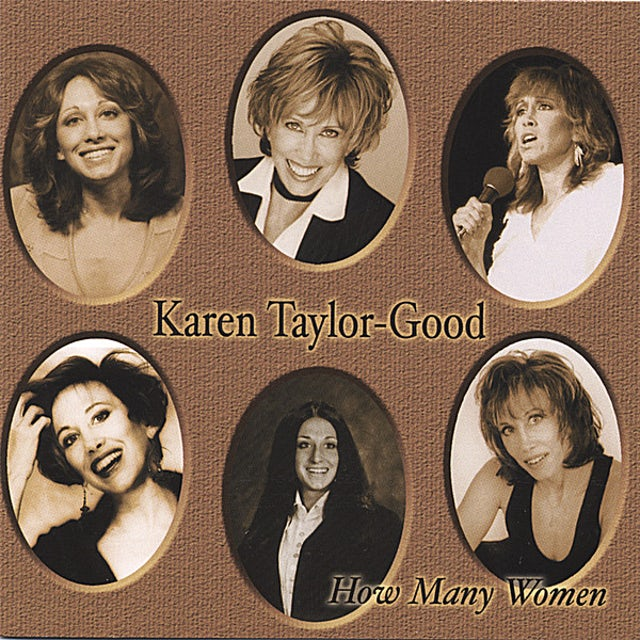 Karen Taylor-Good HOW MANY WOMEN CD