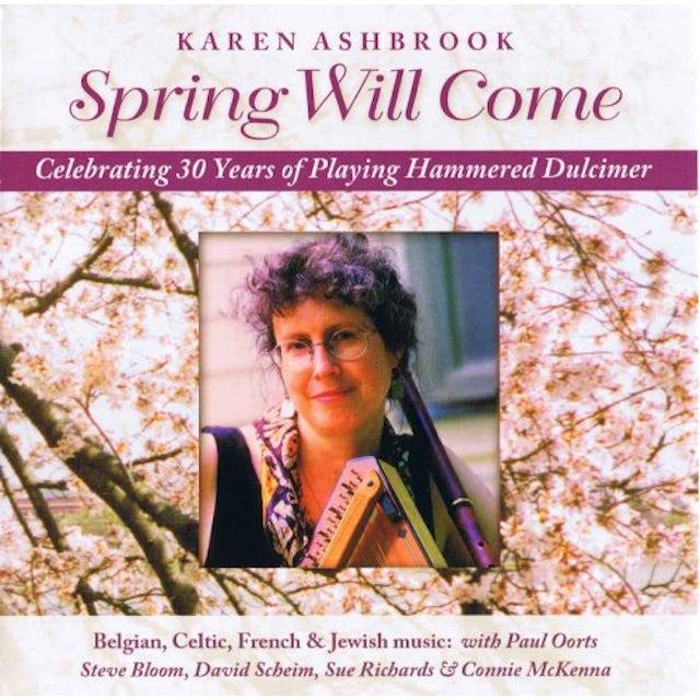 Karen Ashbrook SPRING WILL COME CD