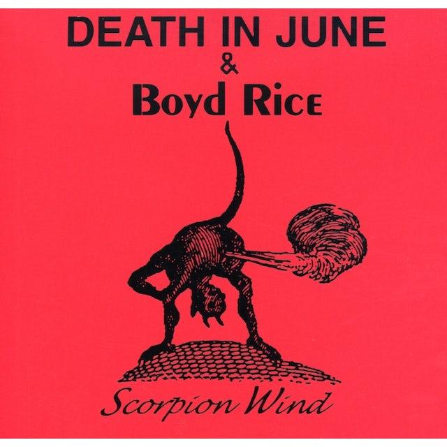 Death In June & Boyd Rice SCORPION WIND CD