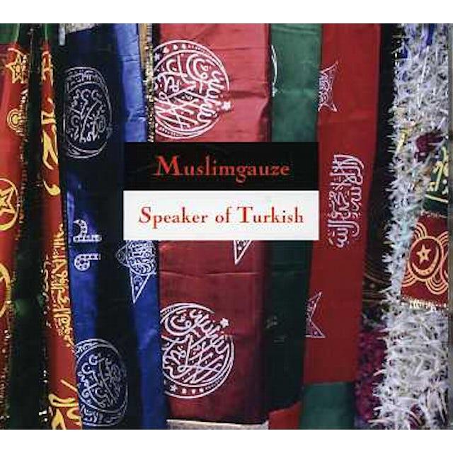 Muslimgauze SPEAKER OF TURKISH CD