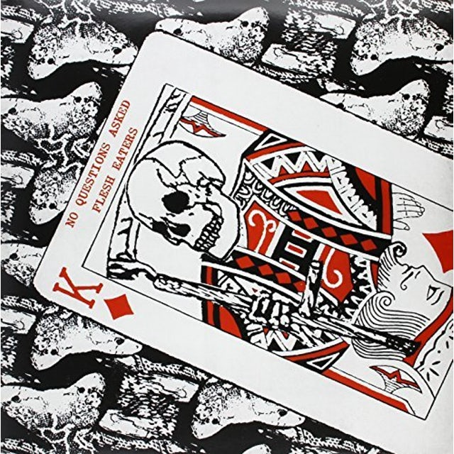 Flesh Eaters NO QUESTIONS ASKED Vinyl Record