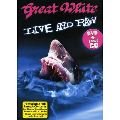 Great White LIVE & RAW DVD