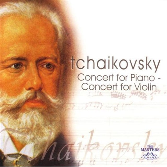 P.I. Tchaikovsky CONCERTO FOR PIANO & VIOLIN CD